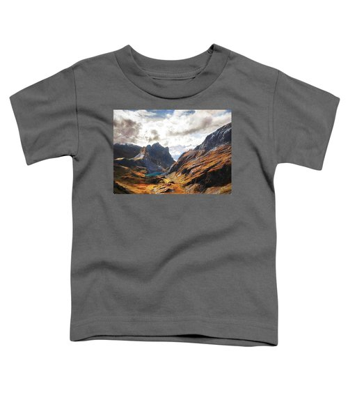 French Alps Toddler T-Shirt
