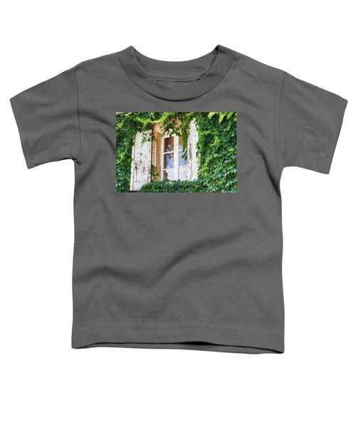 French Window In Provence Toddler T-Shirt