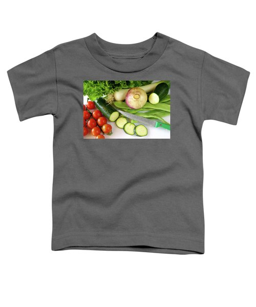 Fresh Vegetables Toddler T-Shirt