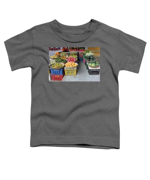 Fresh Veggies Fruit Streets Vietnam  Toddler T-Shirt