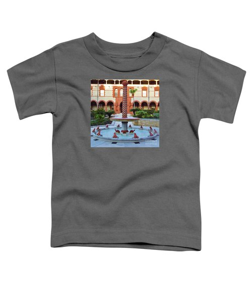 Frog Fountain Toddler T-Shirt
