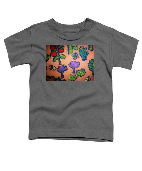 Toddler T-Shirt featuring the painting From The Earth by Winsome Gunning
