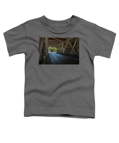From The Inside Looking Out - Shimanek Bridge Toddler T-Shirt