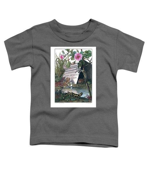 Frontis Of Historia Naturalis Ranarum Nostratium Toddler T-Shirt