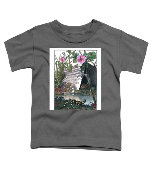 Frontis Of Historia Naturalis Ranarum Nostratium Toddler T-Shirt