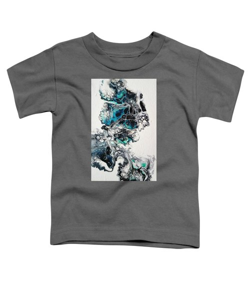 Toddler T-Shirt featuring the painting Frost And Ice by Joanne Smoley