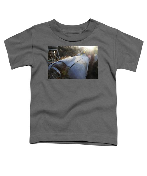 Frosty Tractor Toddler T-Shirt