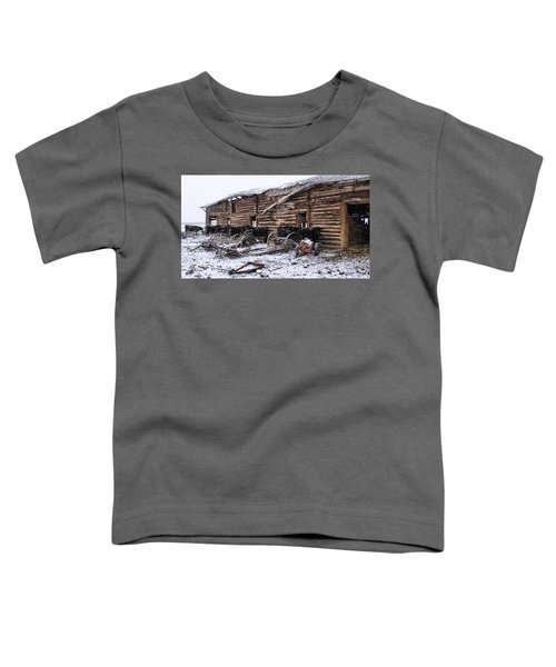 Toddler T-Shirt featuring the photograph Frozen Beef by Susan Kinney