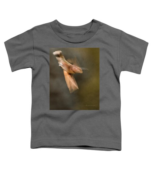 ...frozen Flight Hummingbird.... Toddler T-Shirt