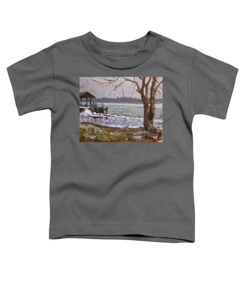 Frozen Niagara River Toddler T-Shirt