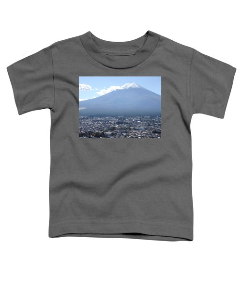Fuji From Churei Tower Toddler T-Shirt