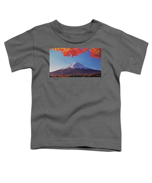 Fuji Shine In Autumn Leaves Toddler T-Shirt