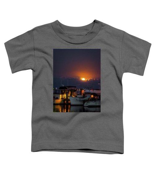 Full Moon At Titusville Toddler T-Shirt