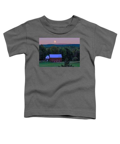 Full Moon From High Street Toddler T-Shirt