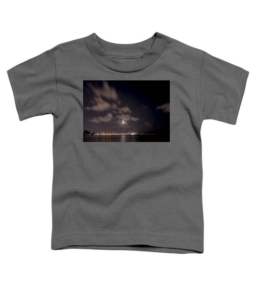 Full Moon In Miami Toddler T-Shirt