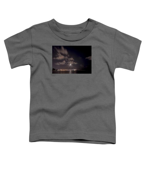 Full Moon In Miami Toddler T-Shirt