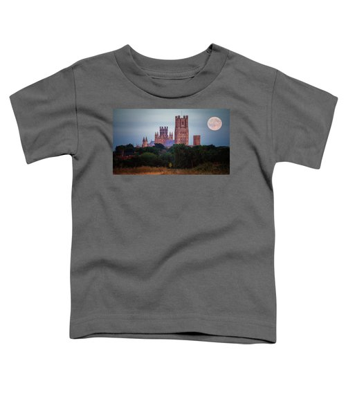 Full Moon Over Ely Cathedral Toddler T-Shirt