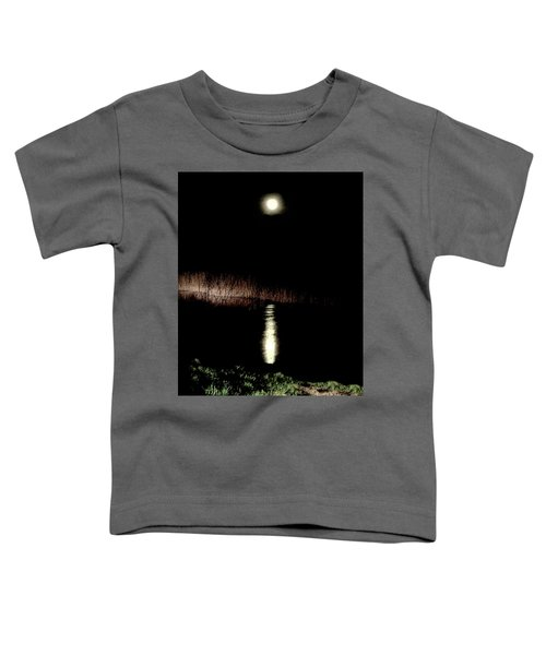 Full Moon Over Piermont Creek Toddler T-Shirt