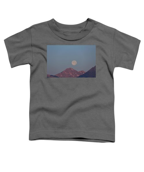 Full Moon Over The Tetons Toddler T-Shirt