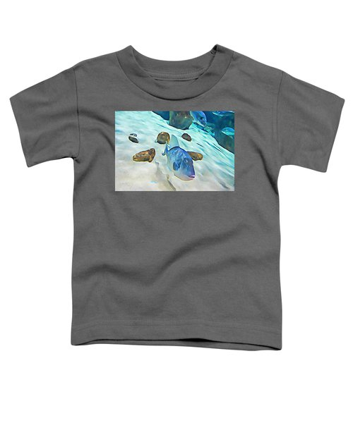Funny Fish Toddler T-Shirt