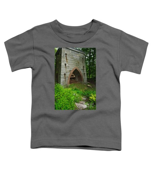 Furnace Of Mine Hill - Historic Iron Blast Furnace Toddler T-Shirt