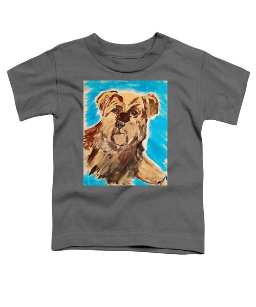 Fuzzy Boy Toddler T-Shirt