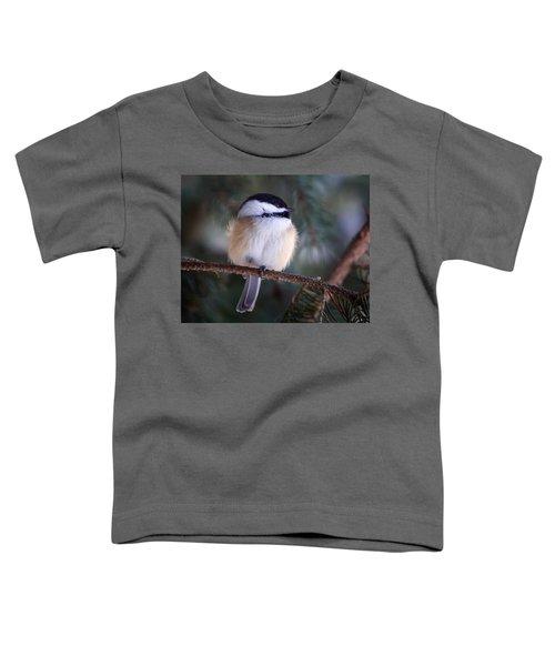 Fuzzy Chickadee Toddler T-Shirt