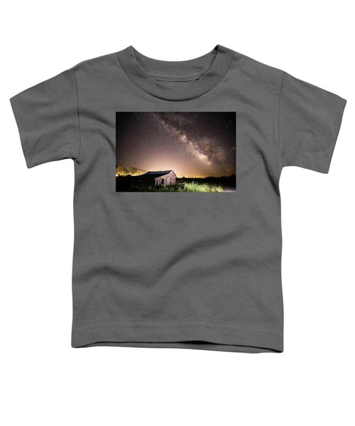 Galaxy In Star Valley Toddler T-Shirt