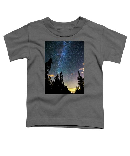 Toddler T-Shirt featuring the photograph  Galaxy Rising by James BO Insogna