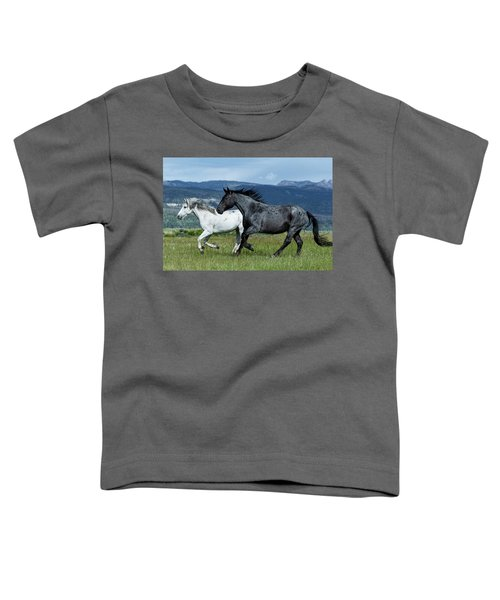 Galloping Through The Scenery Toddler T-Shirt
