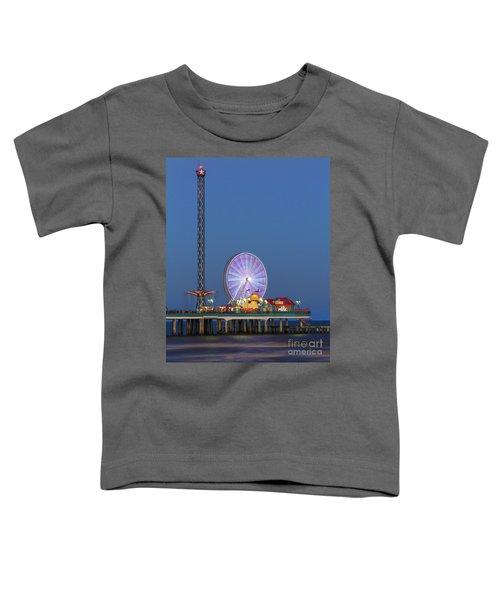 Galveston Pier  Toddler T-Shirt