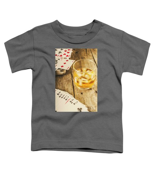 Gamblers Still Life Toddler T-Shirt