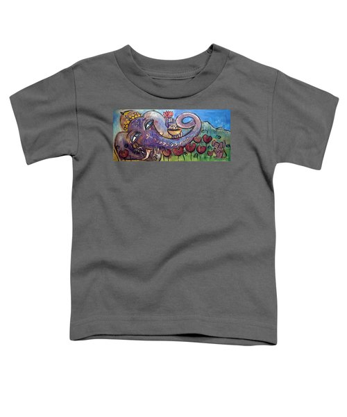 Ganesha With Poppies Toddler T-Shirt