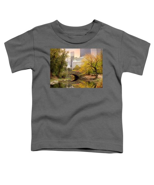 Gapstow Bridge Reflections Toddler T-Shirt
