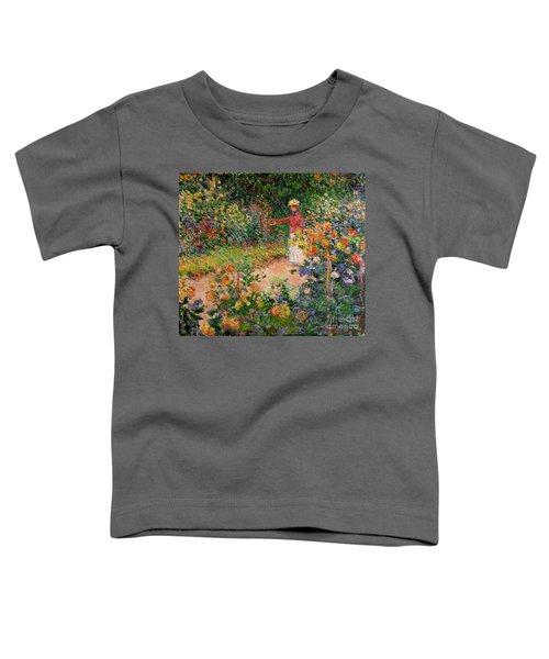 Garden At Giverny Toddler T-Shirt