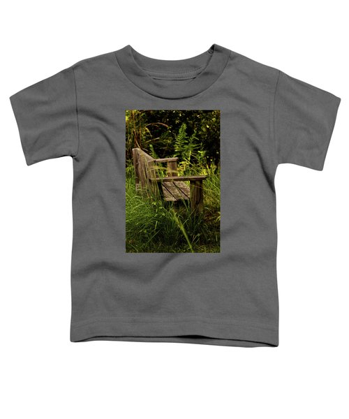 Garden Bench Toddler T-Shirt