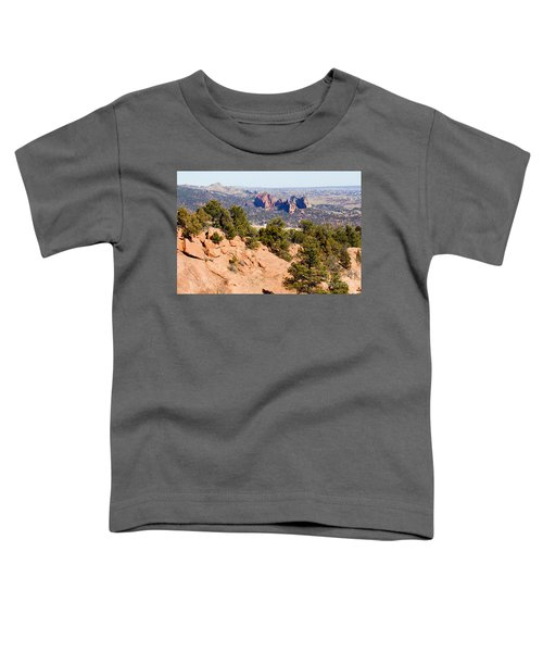 Garden Of The Gods And Springs West Side Toddler T-Shirt
