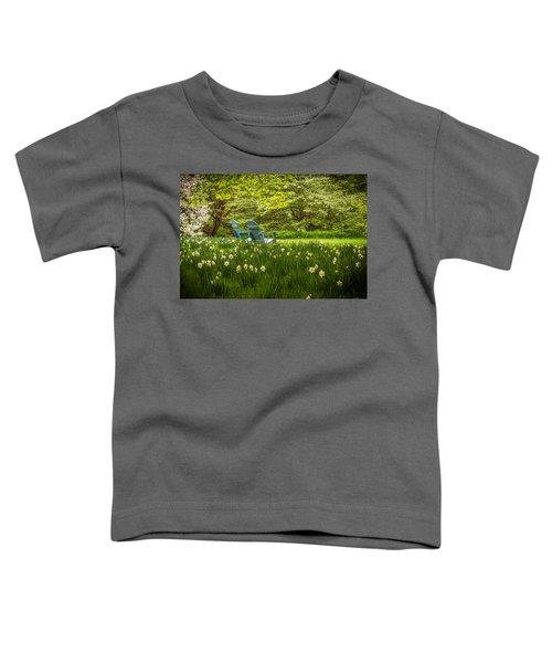 Garden Seats Toddler T-Shirt