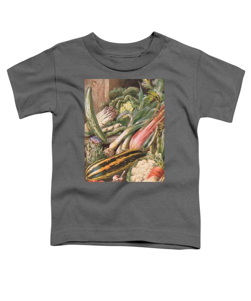 Garden Vegetables Toddler T-Shirt by Louis Fairfax Muckley