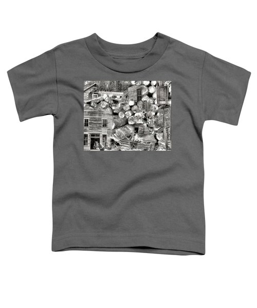 Toddler T-Shirt featuring the photograph Garnet Montana by Susan Kinney