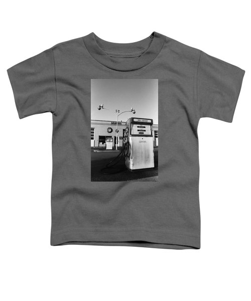 Toddler T-Shirt featuring the photograph Gas Station Somerville Ma by Joy McKenzie
