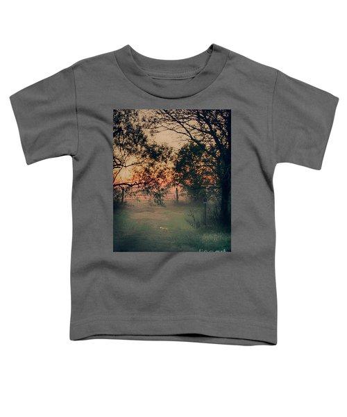 Gated Sunset Toddler T-Shirt