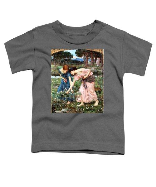Gather Ye Rosebuds While Ye May Toddler T-Shirt
