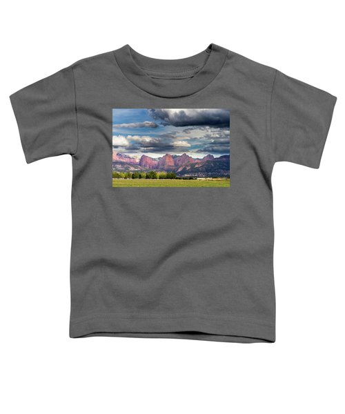 Gathering Storm Over The Fingers Of Kolob Toddler T-Shirt