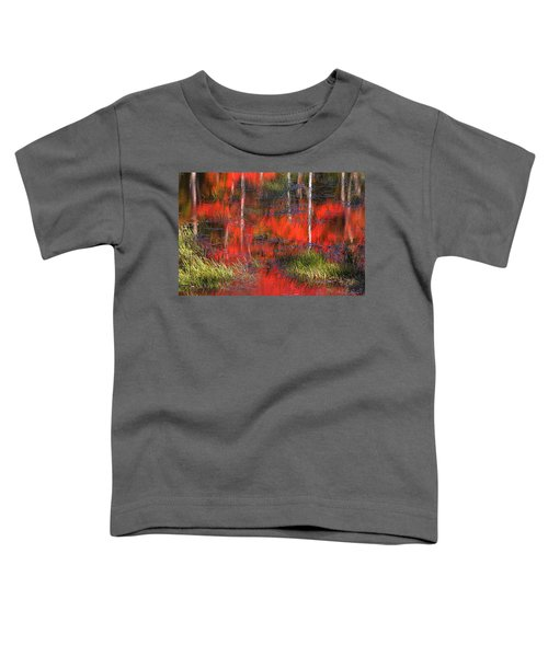 Gatineau Marsh Fall Colors Toddler T-Shirt