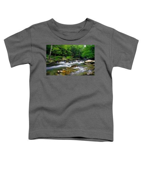 Gatlinburg Stream Toddler T-Shirt