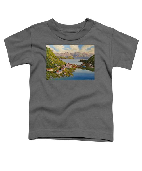 Gaultois Village Newfoundland Toddler T-Shirt