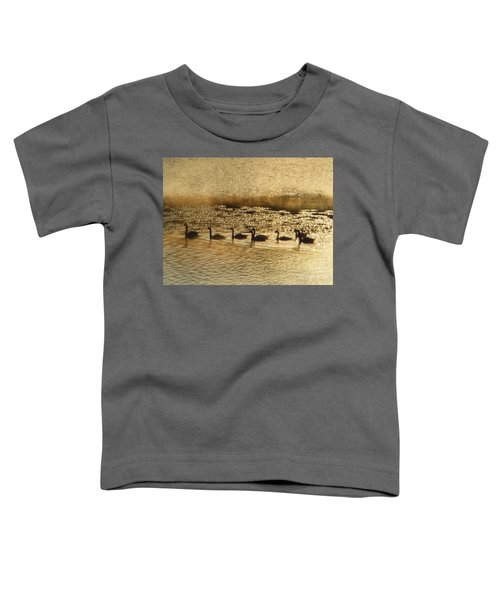 Geese On Golden Pond Toddler T-Shirt
