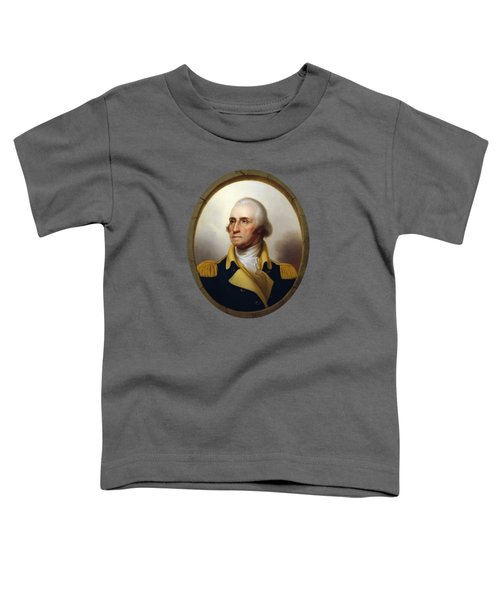 General Washington - Porthole Portrait  Toddler T-Shirt by War Is Hell Store