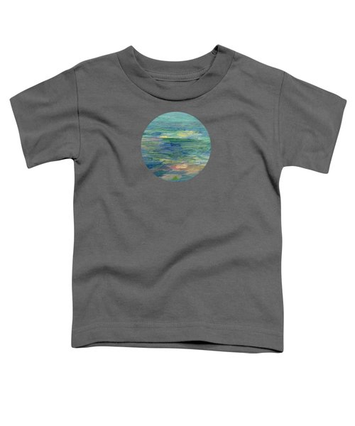 Gentle Light On The Water Toddler T-Shirt by Mary Wolf